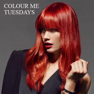 hair colour colour me tuesday´s at hair lab