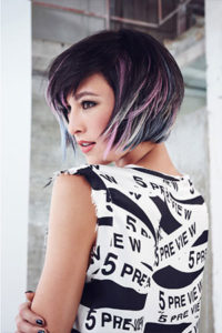 pastel hair colours