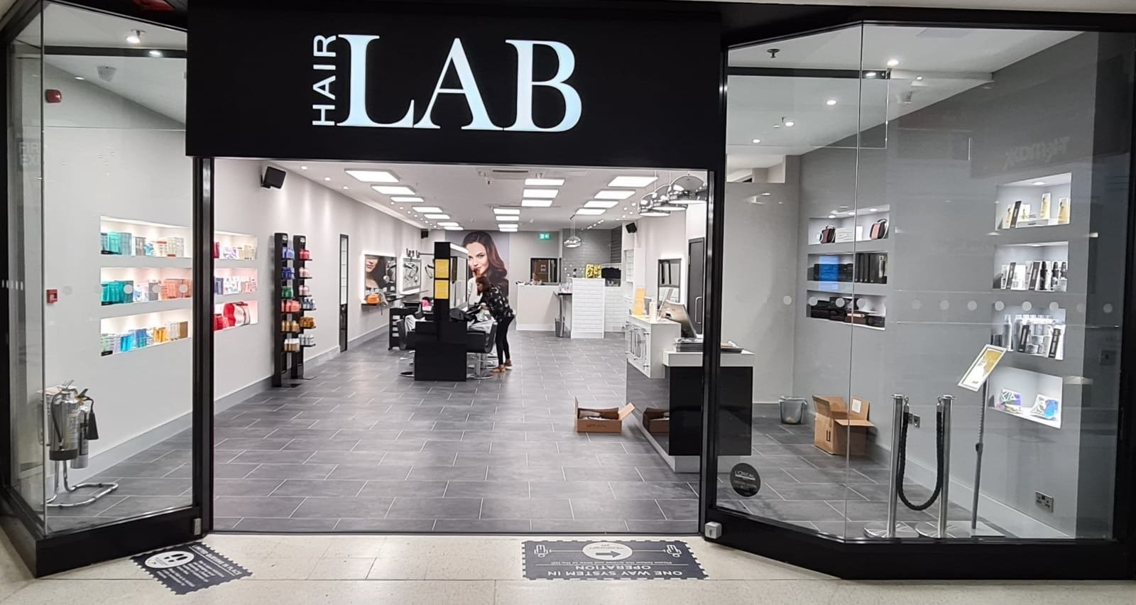 hair lab hairdressers in woking surrey