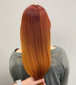 hair breakage solved with Olaplex at hair lab hair salon in woking