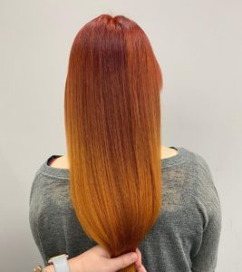 hair breakage solved with Olaplex at hair lab hair salon in woking
