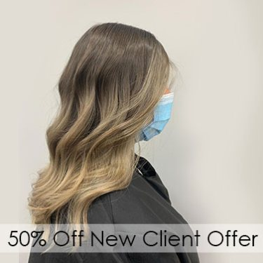 New Client Offers, get 50% off hairdressing services with the hair experts in Woking at Hair Lab Hair Salon