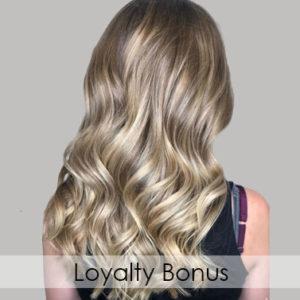 Loyalty Bonus hair lab hair salon woking