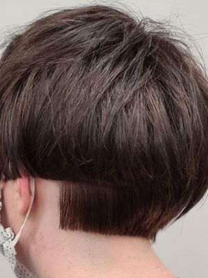 short crops for women at HairLab hairdressing, Woking