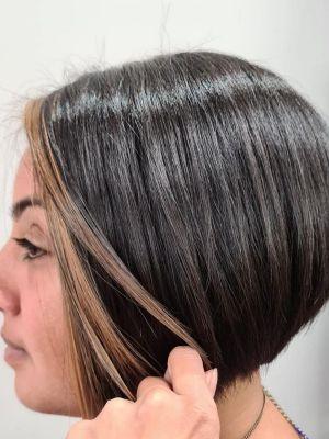 classic bob hair cuts at HairLab hair salon, Woking