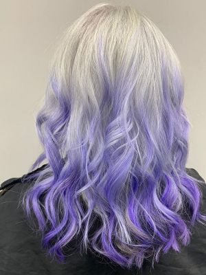 fashion coloured ombre at hairlab hairdressers in Woking