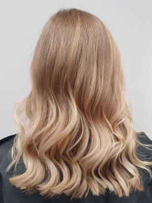 sun kissed balayage highlights at HairLab hair salon in Woking