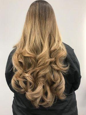 colour melts in Woking at Hair Lab Hair Salon
