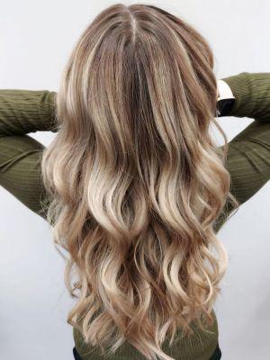 root stretching in Woking at Hair Lab Hair Salon